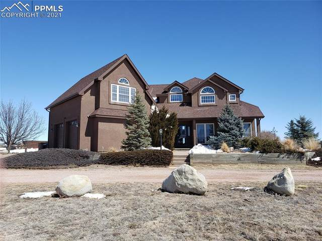 12725 Pommel Circle, Elbert, CO 80106 (#5377392) :: Tommy Daly Home Team