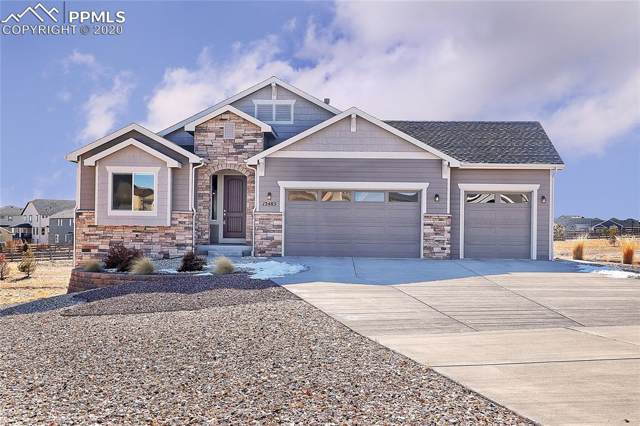 12485 Black Hills Drive, Peyton, CO 80831 (#5381278) :: The Peak Properties Group