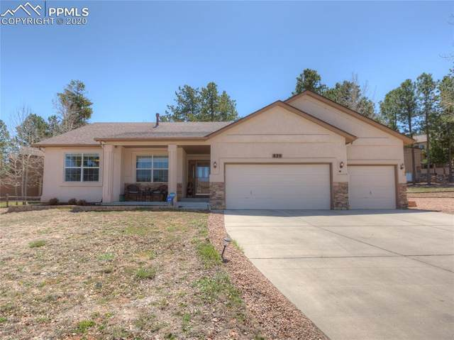 829 Misty Pines Circle, Woodland Park, CO 80863 (#5407589) :: Finch & Gable Real Estate Co.