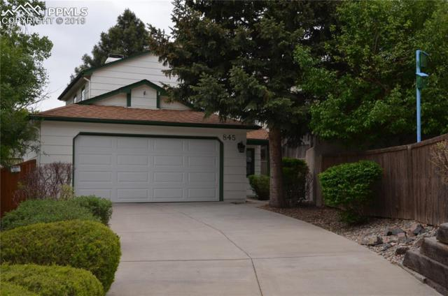 845 Spinner Court, Colorado Springs, CO 80910 (#5418226) :: Tommy Daly Home Team