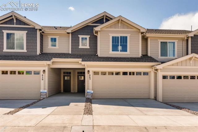 826 Marine Corps Drive, Monument, CO 80132 (#5418708) :: The Treasure Davis Team