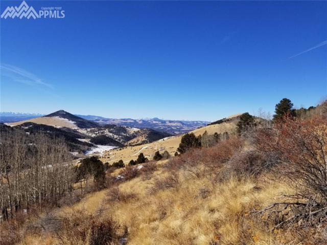 TBD 6 Rhyolite Mountain Mesa Road, Cripple Creek, CO 80813 (#5418842) :: 8z Real Estate