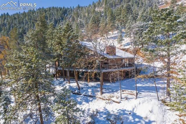 1720 Ponder Heights Drive, Colorado Springs, CO 80906 (#5427032) :: The Kibler Group