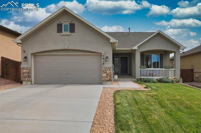 2619 Farrier Court, Colorado Springs, CO 80922 (#5436455) :: The Kibler Group