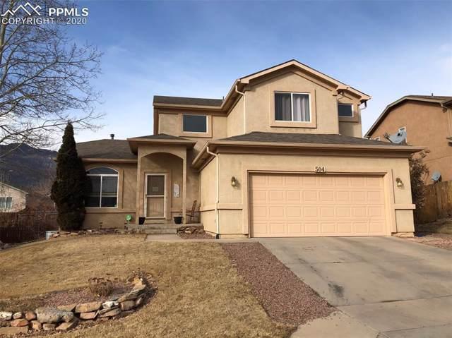 504 Silver Mine Drive, Colorado Springs, CO 80905 (#5437164) :: CC Signature Group