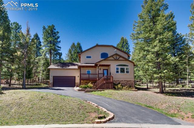 641 Misty Pines Circle, Woodland Park, CO 80863 (#5437249) :: Colorado Home Finder Realty