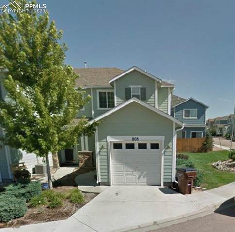 808 Hailey Glenn View, Colorado Springs, CO 80916 (#5461495) :: Realty ONE Group Five Star