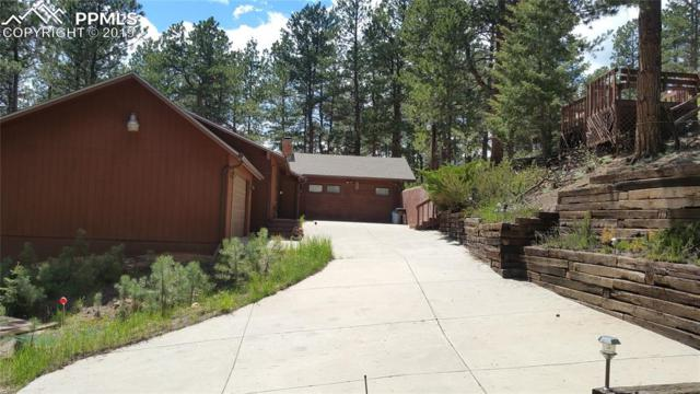 400 W Lovell Gulch Road, Woodland Park, CO 80863 (#5461809) :: Jason Daniels & Associates at RE/MAX Millennium