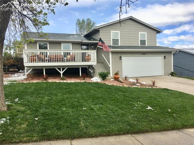 2945 Lavarie Drive, Colorado Springs, CO 80917 (#5522708) :: The Peak Properties Group
