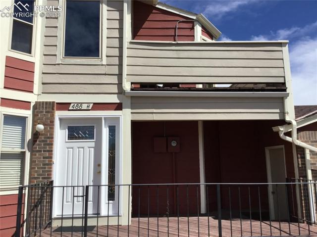 488 W Rockrimmon Boulevard H, Colorado Springs, CO 80919 (#5540808) :: The Treasure Davis Team