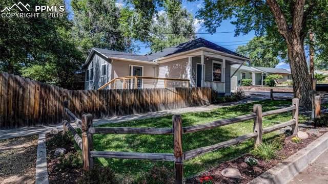 112 N 13th Street, Colorado Springs, CO 80904 (#5561620) :: The Peak Properties Group