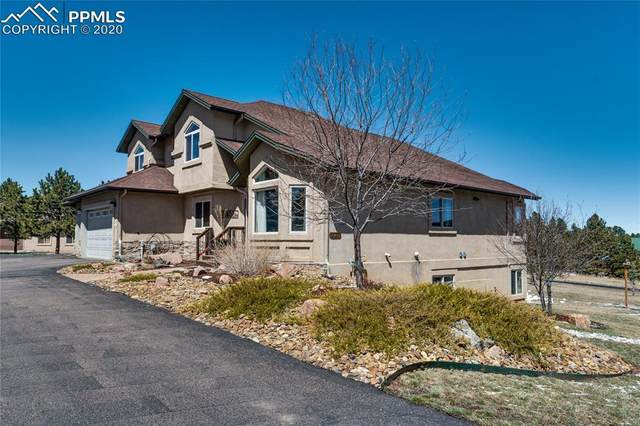 220 Eagle Pines Drive, Woodland Park, CO 80863 (#5569069) :: Finch & Gable Real Estate Co.