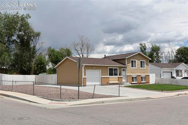 1197 Mount Werner Terrace, Colorado Springs, CO 80905 (#5581192) :: The Harling Team @ Homesmart Realty Group