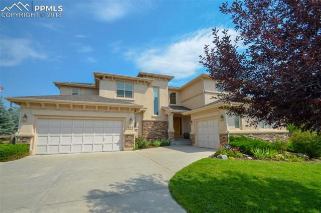 2340 Rusty Ridge Court, Colorado Springs, CO 80921 (#5592099) :: The Hunstiger Team