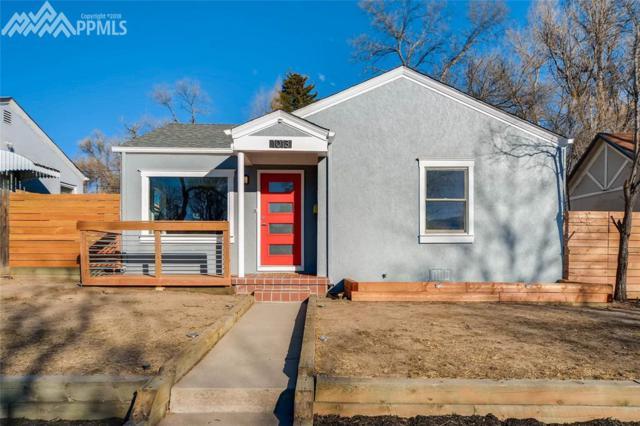 1013 N Arcadia Street, Colorado Springs, CO 80903 (#5597604) :: Group 46:10 Colorado Springs