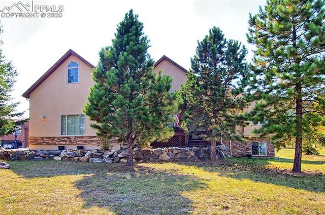 1101 Windflower Lane, Woodland Park, CO 80863 (#5600943) :: The Treasure Davis Team