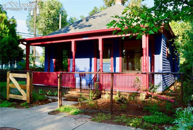 416 N Franklin Street, Colorado Springs, CO 80903 (#5608653) :: Jason Daniels & Associates at RE/MAX Millennium