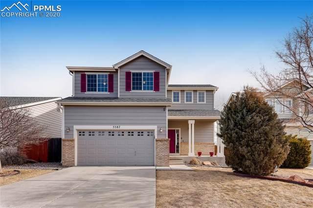 5587 Rose Ridge Lane, Colorado Springs, CO 80917 (#5643523) :: Jason Daniels & Associates at RE/MAX Millennium