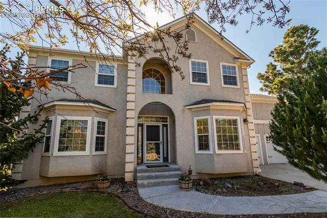 1670 Ridgeview Circle, Monument, CO 80132 (#5656713) :: The Kibler Group