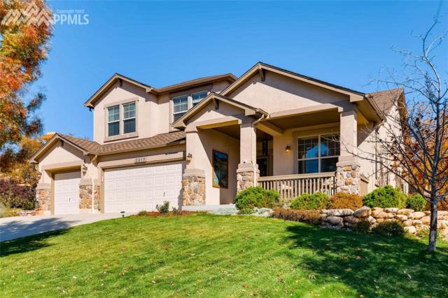 2017 Paradise Ridge Court, Colorado Springs, CO 80921 (#5661855) :: Action Team Realty