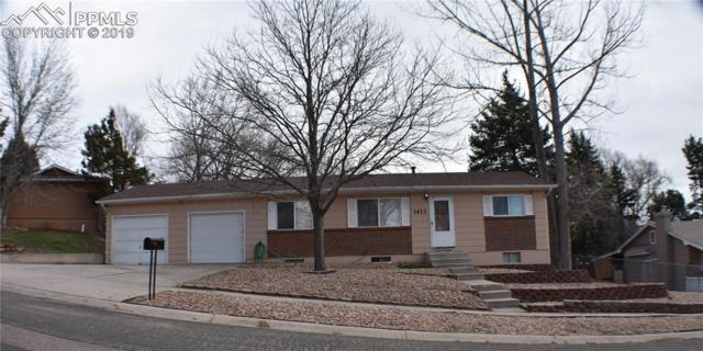 1413 Baylor Drive, Colorado Springs, CO 80909 (#5683460) :: The Hunstiger Team