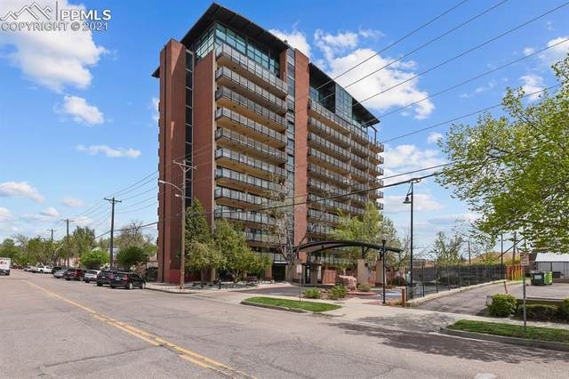 417 E Kiowa Street #408, Colorado Springs, CO 80903 (#5686047) :: Fisk Team, RE/MAX Properties, Inc.