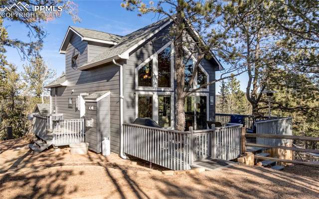 42 Potlatch Trail, Woodland Park, CO 80863 (#5694143) :: The Treasure Davis Team