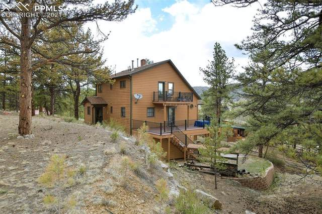 123 Dynamite Trail, Lake George, CO 80827 (#5719699) :: Tommy Daly Home Team
