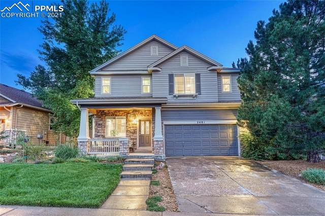 2481 Chesterfield Road, Castle Rock, CO 80109 (#5722225) :: Action Team Realty