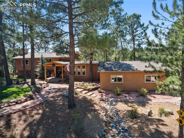 4375 Creek View Road, Colorado Springs, CO 80908 (#5732063) :: The Hunstiger Team