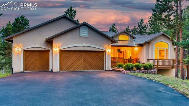 671 Skyline Drive, Woodland Park, CO 80863 (#5735008) :: Finch & Gable Real Estate Co.