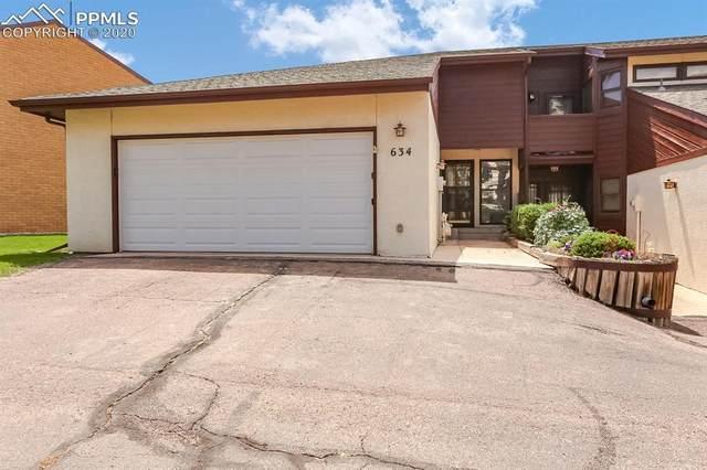634 Lakewood Circle, Colorado Springs, CO 80910 (#5751007) :: The Dixon Group