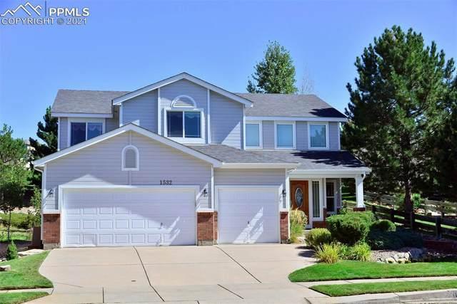 1532 Lookout Springs Drive, Colorado Springs, CO 80921 (#5768874) :: The Daniels Team