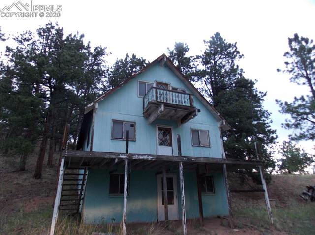5100 County Road 1 Road, Cripple Creek, CO 80813 (#5772914) :: CC Signature Group