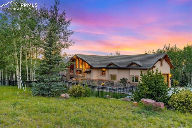 11750 Woodland Road, Woodland Park, CO 80863 (#5790458) :: Tommy Daly Home Team