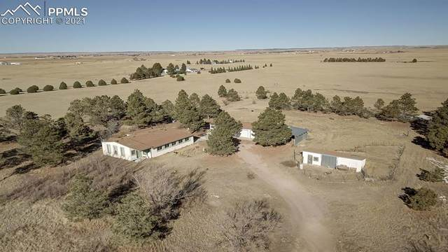 22070 E Garrett Road, Calhan, CO 80808 (#5800962) :: The Gold Medal Team with RE/MAX Properties, Inc
