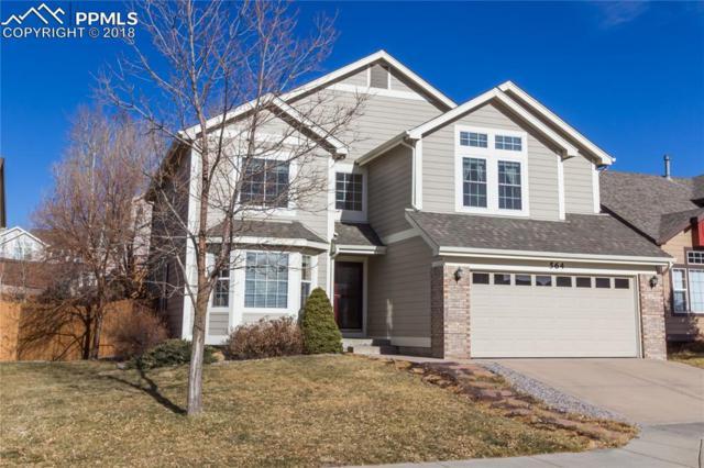 564 Fox Run Circle, Colorado Springs, CO 80921 (#5814038) :: Jason Daniels & Associates at RE/MAX Millennium
