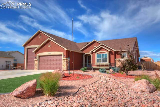 11454 Palmers Green Drive, Peyton, CO 80831 (#5837907) :: The Peak Properties Group