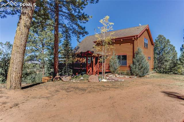 155 Blue Spruce Trail, Woodland Park, CO 80866 (#5841679) :: Tommy Daly Home Team