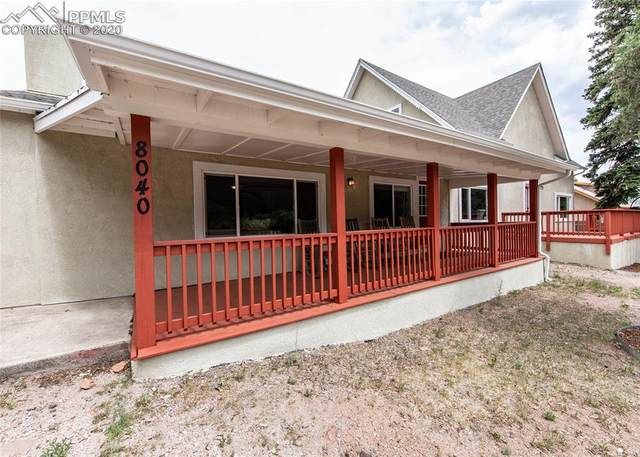 8040 W Highway 24 Highway 1 & 2, Cascade, CO 80809 (#5856408) :: Finch & Gable Real Estate Co.