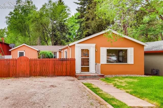 105 Via San Miguel Lane, Manitou Springs, CO 80829 (#5875181) :: Finch & Gable Real Estate Co.