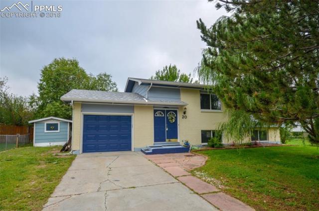 20 Bella Vista Lane, Colorado Springs, CO 80911 (#5950071) :: Jason Daniels & Associates at RE/MAX Millennium