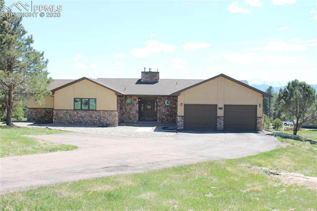 315 E Stirrup Trail, Monument, CO 80132 (#5951589) :: Action Team Realty
