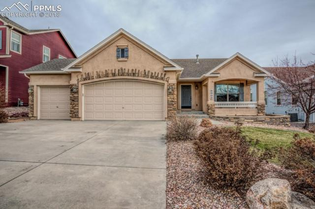 8809 Wolf Lake Drive, Colorado Springs, CO 80924 (#5956906) :: The Hunstiger Team