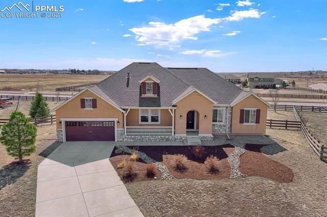 7235 Antelope Meadows Circle, Peyton, CO 80831 (#5963822) :: The Artisan Group at Keller Williams Premier Realty