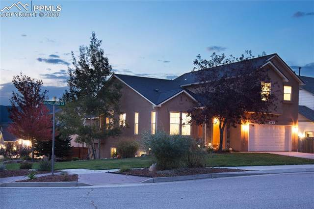 164 Homeland Court, Colorado Springs, CO 80921 (#5987236) :: Tommy Daly Home Team