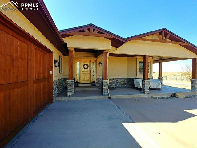 4122 Peyton Highway, Peyton, CO 80831 (#5999566) :: Finch & Gable Real Estate Co.