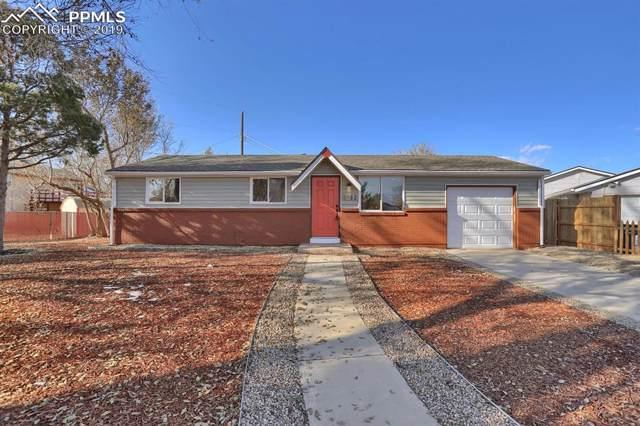 2962 Welton Drive, Colorado Springs, CO 80906 (#5999920) :: The Kibler Group