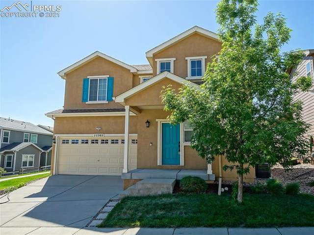 11505 Wildwood Ridge Drive, Colorado Springs, CO 80921 (#6008419) :: Tommy Daly Home Team