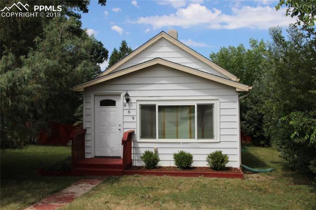 869 Denver Street, Calhan, CO 80808 (#6012900) :: The Dixon Group